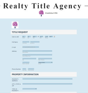 realty-title-online-title-request-form